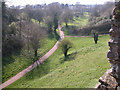 ST5393 : Chepstow - The Dell from the Castle by Roy Parkhouse