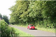 ST2113 : Churchstanton: the Honiton road by Martin Bodman