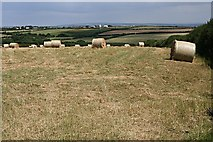 SW9071 : Hay Bales by Tony Atkin