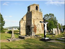 S3437 : Ruined church tower at Kilvemnon, Co. Tipperary by Humphrey Bolton