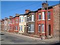 SJ3692 : Empty houses in Herschell Street, Anfield by Derek Harper