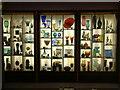 SX7862 : Dartington Cider Press Centre, Glass Display by Neil Kennedy