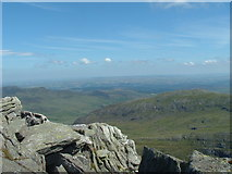 SH6659 : just below the summit of Tryfan by Trevor Hilton