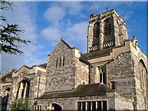 SX9193 : St David's church, Exeter by Derek Harper