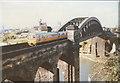 NZ3957 : Wear Bridge (rail) by Stephen Craven