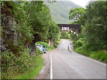 NM7184 : Beasdale Bridge by Richard Webb