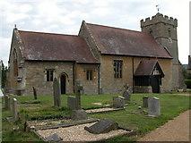 SP0033 : Alderton church by Philip Halling