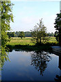 TM3390 : River Waveney from Bridge Street, Bungay by Linda Bailey