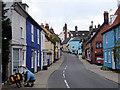 TM3389 : Bridge Street, Bungay by Linda Bailey