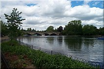 TQ2780 : The bridge over the Serpentine, Hyde Park. by Bill Henderson