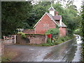 SO6562 : Roadside building in Stoke Bliss by Philip Halling