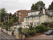 SX9364 : Anstey's Cove Hotel, Torquay by David Hawgood