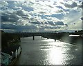 NZ2563 : The River Tyne, from the High Level Bridge by Bill Henderson