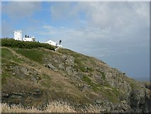 SW7011 : The Lizard Lighthouse from Old Lizard Point by Rich Tea