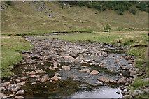 NN1868 : Water of Nevis from Steall (ruin) bridge by Erik Piek