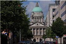 J3373 : Linenhall Street, Belfast by Albert Bridge