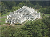 TQ1876 : Kew Gardens Temperate House from the Pagoda by David Hawgood
