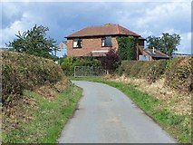 SJ6528 : Mount Lane, Heathcote by Geoff Pick