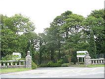 SH4961 : The Main Entrance of Glan Gwna Holiday Park by Eric Jones