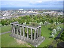 NT2674 : Calton Hill Monument by Donald Thomas