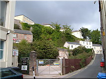 SX9164 : Factory Row from Temperance Street, Torquay by Derek Harper