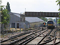 TQ2972 : Rail depot, Streatham Hill by Stephen Craven