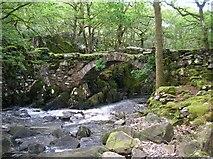 SH6229 : Pont Cwm-yr-Afon by DS Pugh