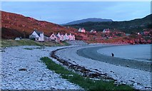 NH1098 : Cul a' Bhogha, Ardmair, Evening Sun by Mick Garratt