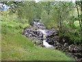 NH1101 : Allt a Ghobhainn. by Dave Fergusson