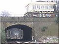 TQ6473 : Railway cutting with bridges, Gravesend by Stephen Craven