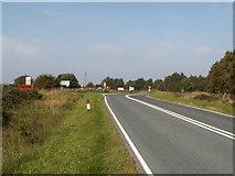 NZ8904 : Interesting road junction on the B1416 by Charles Joynson