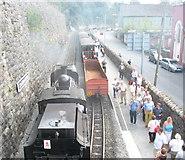SH4862 : Caernarfon WHR Station by Eric Jones