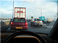 TQ1171 : Exit from the A316 by John Lucas
