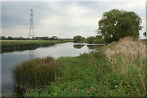 SK3527 : River Trent, Ingleby by Phil Myott