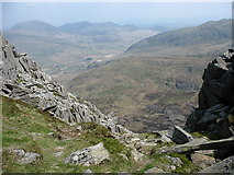 SH6659 : The Col between Far South Peak and Tryfan by Eric Jones
