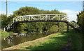 SK3029 : Footbridge over Trent & Mersey canal by Phil Myott