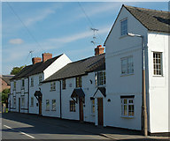 SK3030 : Row of Cottages by Phil Myott