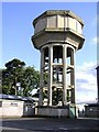 H4771 : Water Tower, T and F grounds by Kenneth  Allen