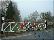 SK2663 : Looking North at Church Lane Crossing by John M