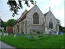 SU8695 : Hughenden Parish Church by Peter Jemmett