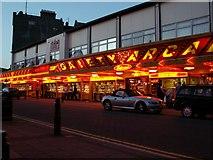 TM1714 : Amusement arcade at Clacton-on-Sea, Essex by Robert Edwards