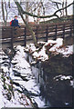 NN7543 : Falls of Acharn in winter by Stephen Craven