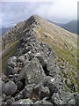 NN1342 : Ridge to Stob Coire Dheirg by Graham Ellis