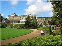 SK0573 : Pavilion Gardens - Buxton by DS Pugh
