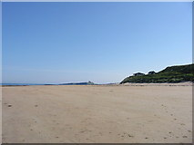 NU2424 : Beach huts Newton by the Sea by P Glenwright