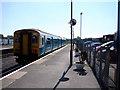 SN4119 : Carmarthen Station by John Lucas