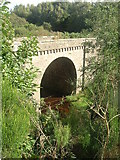 NO7492 : Blairydryne bridge over Sheeoch Burn by Stanley Howe