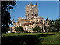 SO8932 : Tewkesbury Abbey by Philip Halling