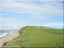 SH4356 : Dinas Dinlle Fort from the South by Eric Jones