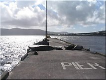 V4377 : Pier at Valentia Harbour by Peter Craine